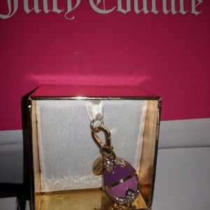 Limited Edition Juicy Couture Easter Bunny & egg.